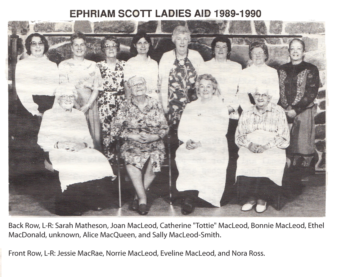 Ephraim Scott Presbyterian Church Ladies Aid Cook Book, South Haven